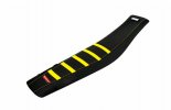 Seat cover spare part POLISPORT PERFORMANCE Yellow hsq/black